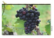 Purple Grape Bunches 17 Carry-all Pouch