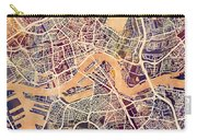 Rotterdam Netherlands City Map Carry-all Pouch