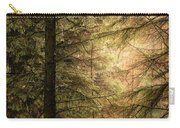 Stunning Fine Art Landscape Image Of Winter Forest Landscape In  Carry-all Pouch