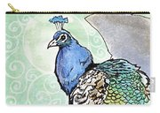 2018 Septembird 10 Peacock Carry-all Pouch