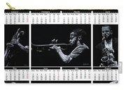 2019 High Resolution R Young Art Musicians Calendar Carry-all Pouch