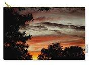 Backyard Sunset Carry-all Pouch