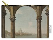Capriccio With St. Pauls And Old London Bridge Carry-all Pouch