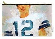 Dallas Cowboys.roger Thomas Staubach. Carry-all Pouch