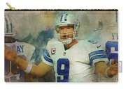 Dallas Cowboys.tony Romo. Carry-all Pouch