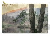 Digital Watercolor Painting Of Beautiful Landscape Image Of Tarn Carry-all Pouch