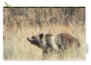 Grizzly Bear Carry-all Pouch by Michael Chatt