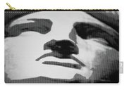 Lady Liberty In Black And White Carry-all Pouch