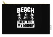 Metal Detector Beach Sweep Beep Dig Apparel Carry-all Pouch