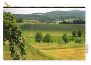 Photograph Of A Field In Germany Carry-all Pouch