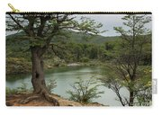 Picturesque Laguna Verde, Tierra Del Fuego National Park, Ushuaia, Argentina Carry-all Pouch