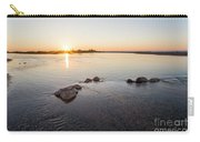 Platte River At Dusk Carry-all Pouch