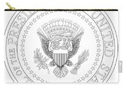 Presedent Seal Carry-all Pouch
