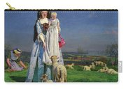 Pretty Baa-lambs Carry-all Pouch