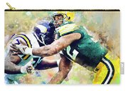 Reggie White. Green Bay Packers. Carry-all Pouch