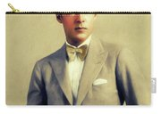 Rudolph Valentino, Vintage Actor Carry-all Pouch