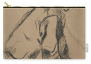 Study Of A Jockey Carry-all Pouch