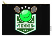 Tennis Player Tennis Racket I Love Tennis Ball Carry-all Pouch