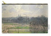 The Garden Of The Tuileries On A Winter Afternoon  Carry-all Pouch