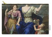 The Marquise De Seignelay And Two Of Her Sons  Carry-all Pouch