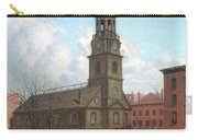 The North Dutch Church  Fulton And William Streets  New York  Carry-all Pouch