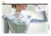 Victorian Woman In The Garden Carry-all Pouch