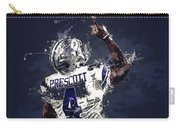 Dallas Cowboys.dak Prescott. Carry-all Pouch
