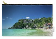 Diniwid Resort Beach View In Tropical Paradise Boracay Island Ph Carry-all Pouch
