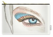 Portrait Illustration- Watercolor Painting Carry-all Pouch