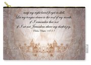 Psalm 137 Carry-all Pouch