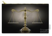 Scales Of Justice Dramatic Carry-all Pouch