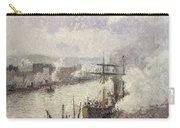 Steamboats In The Port Of Rouen  Carry-all Pouch