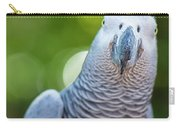 African Grey Parrot Carry-all Pouch by Rob D Imagery