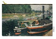 Barges At Pontoise  Carry-all Pouch