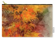 Digital Watercolor Painting Of Beautiful Colorful Vibrant Red An Carry-all Pouch