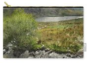Digital Watercolor Painting Of Stunning Landscape Image Of Count Carry-all Pouch