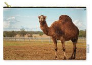 Large Beautiful Camel Carry-all Pouch