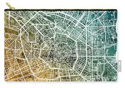 Milan Italy City Map Carry-all Pouch