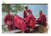 5 Monks On A Break Carry-all Pouch