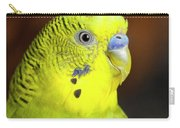 Portrait Of Budgie Birds Carry-all Pouch