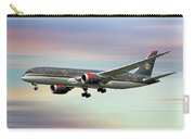 Royal Jordanian Boeing 787-8 Dreamliner Carry-all Pouch