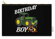 5 Years Old Birthday Design Green Tractor Gifdesign  Carry-all Pouch