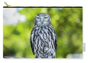 Barking Owl Carry-all Pouch by Rob D Imagery