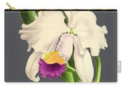 Orchid Old Print Carry-all Pouch