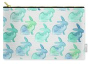 Watercolor Bunnies 1i Carry-all Pouch