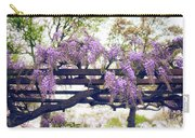 Wisteria Wonder Carry-all Pouch