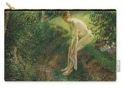 Bather In The Woods  Carry-all Pouch