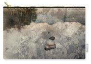 Digital Watercolor Painting Of Beautiful Autumn Fall Colorful Su Carry-all Pouch