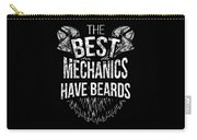 Funny Mechanic Beard Facial Hair Apparel Carry-all Pouch