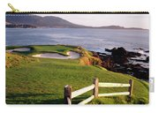 7th Hole At Pebble Beach Golf Links Carry-all Pouch